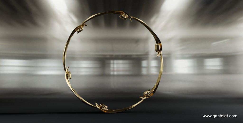 Bracelet Doigt Et Poignet Chaine En Or Graine De Cafe